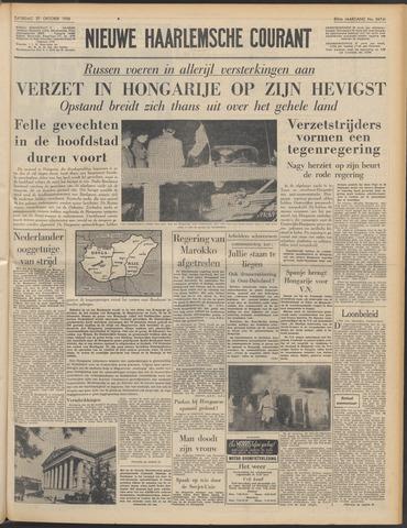 Nieuwe Haarlemsche Courant 1956-10-27
