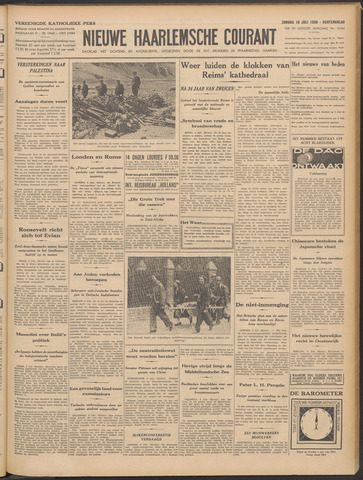Nieuwe Haarlemsche Courant 1938-07-10