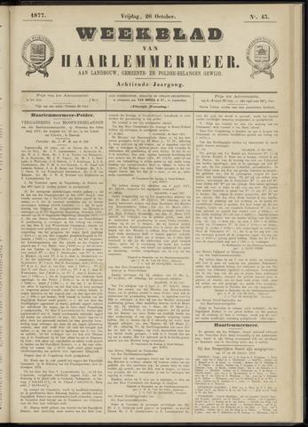 Weekblad van Haarlemmermeer 1877-10-26