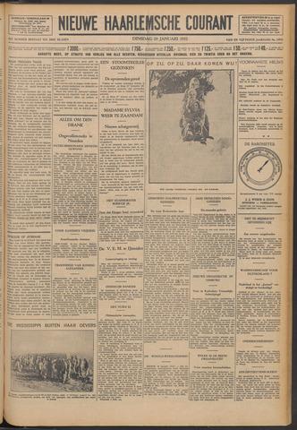 Nieuwe Haarlemsche Courant 1932-01-19
