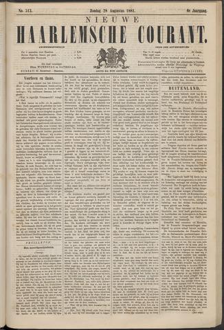 Nieuwe Haarlemsche Courant 1881-08-28
