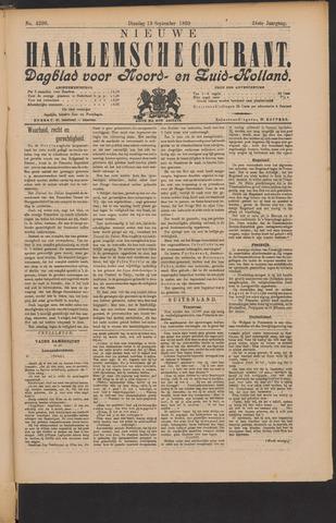 Nieuwe Haarlemsche Courant 1899-09-19