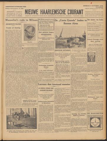 Nieuwe Haarlemsche Courant 1934-10-09