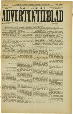 Haarlemsch Advertentieblad 1888-04-04
