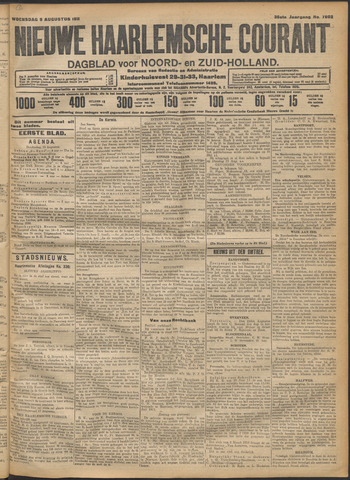 Nieuwe Haarlemsche Courant 1911-08-09