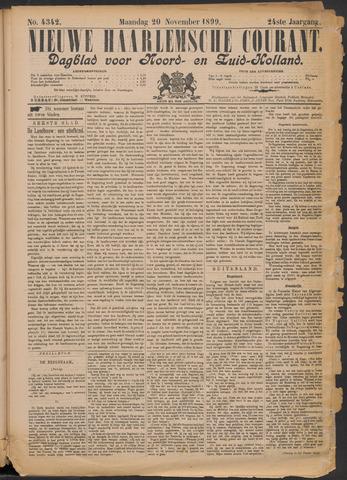 Nieuwe Haarlemsche Courant 1899-11-20