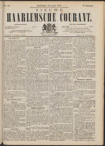 Nieuwe Haarlemsche Courant 1877-11-08