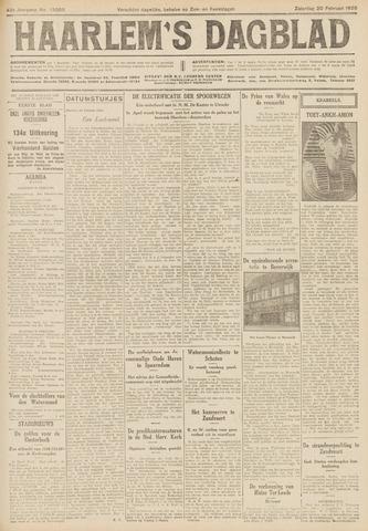 Haarlem's Dagblad 1926-02-20