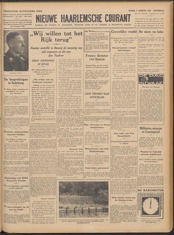 Nieuwe Haarlemsche Courant 1939-08-11