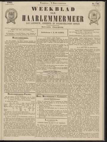 Weekblad van Haarlemmermeer 1866-09-07