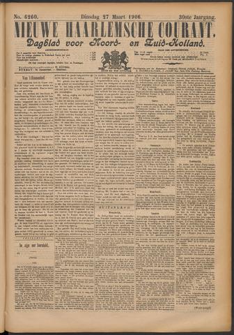 Nieuwe Haarlemsche Courant 1906-03-27