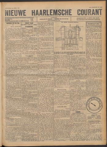 Nieuwe Haarlemsche Courant 1922-04-26