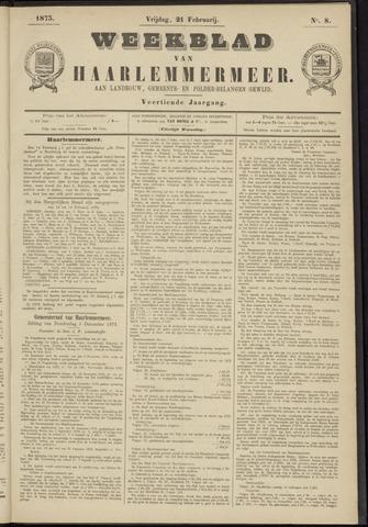 Weekblad van Haarlemmermeer 1873-02-21