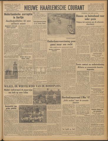 Nieuwe Haarlemsche Courant 1947-03-27