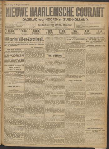 Nieuwe Haarlemsche Courant 1915-09-23