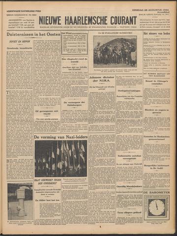 Nieuwe Haarlemsche Courant 1934-08-28