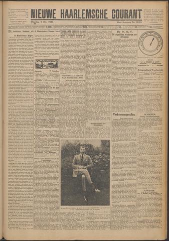 Nieuwe Haarlemsche Courant 1925-10-06