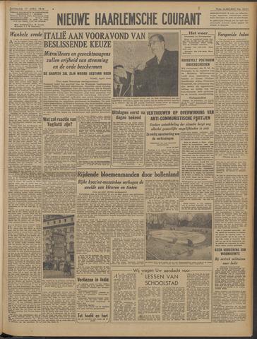Nieuwe Haarlemsche Courant 1948-04-17