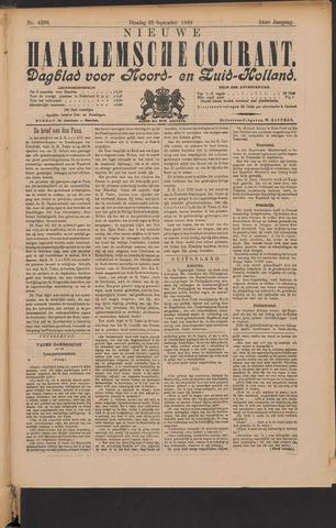 Nieuwe Haarlemsche Courant 1899-09-26