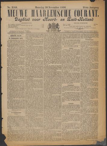Nieuwe Haarlemsche Courant 1896-11-30