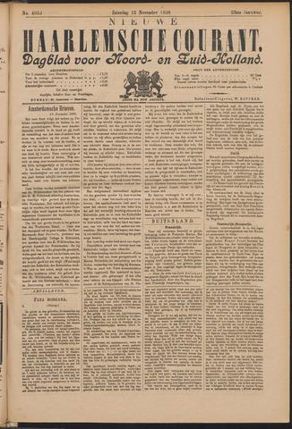 Nieuwe Haarlemsche Courant 1898-11-12