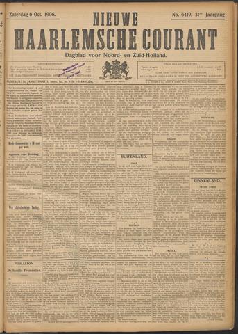 Nieuwe Haarlemsche Courant 1906-10-06