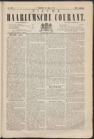 Nieuwe Haarlemsche Courant 1885-06-18