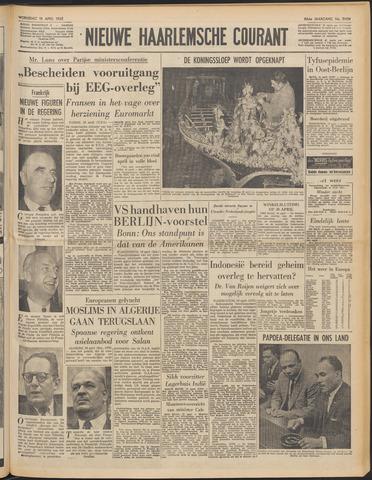 Nieuwe Haarlemsche Courant 1962-04-18