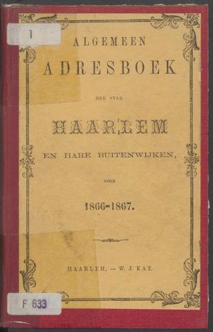 Adresboeken Haarlem 1866