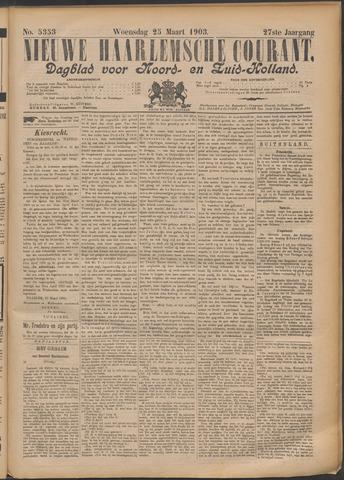Nieuwe Haarlemsche Courant 1903-03-25