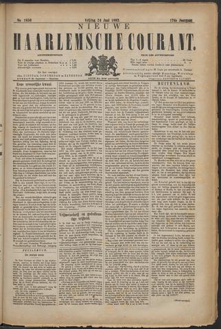 Nieuwe Haarlemsche Courant 1892-06-24