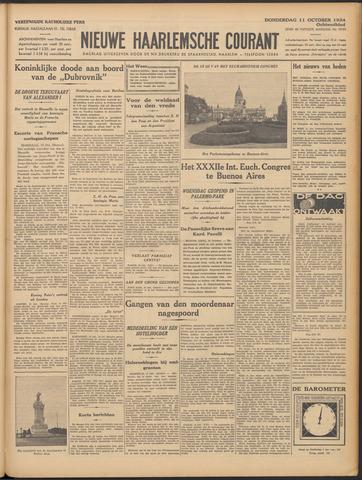 Nieuwe Haarlemsche Courant 1934-10-11