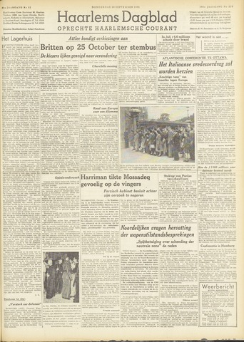 Haarlem's Dagblad 1951-09-20