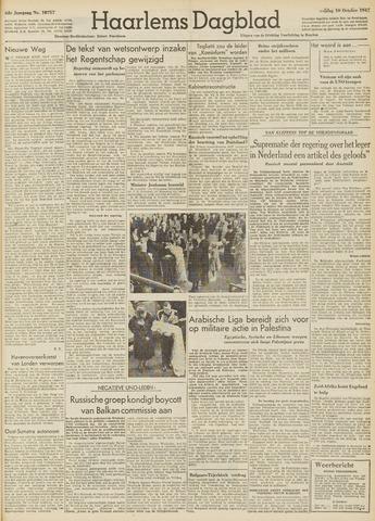 Haarlem's Dagblad 1947-10-10