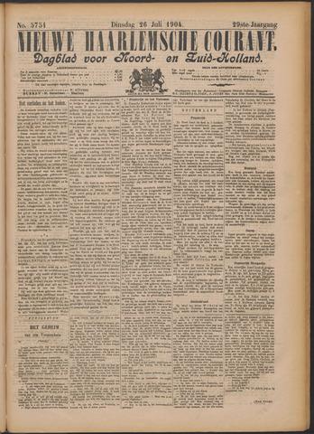 Nieuwe Haarlemsche Courant 1904-07-26