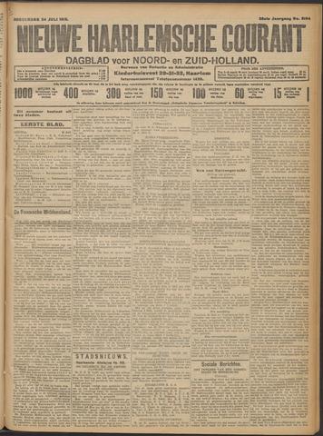 Nieuwe Haarlemsche Courant 1913-07-24