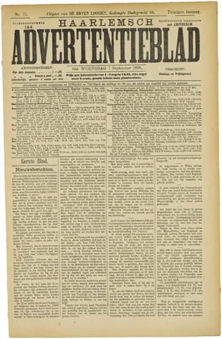 Haarlemsch Advertentieblad 1898-09-07