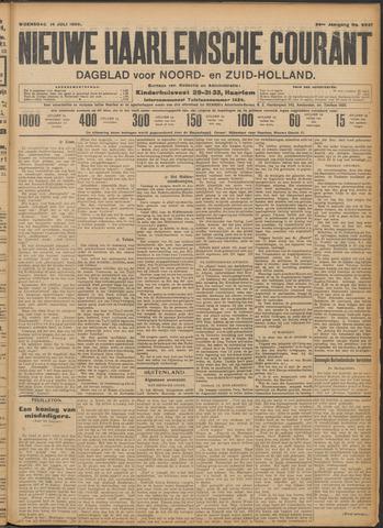 Nieuwe Haarlemsche Courant 1909-07-14