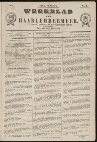 Weekblad van Haarlemmermeer 1876-01-14