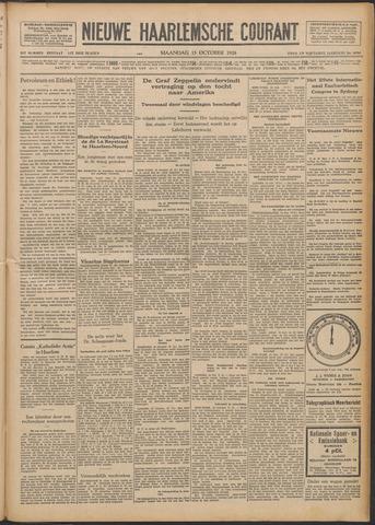 Nieuwe Haarlemsche Courant 1928-10-15