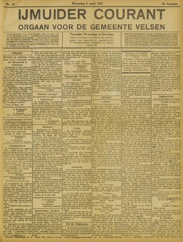 IJmuider Courant 1921-04-06