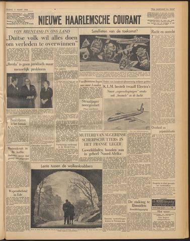 Nieuwe Haarlemsche Courant 1956-03-09