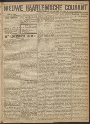 Nieuwe Haarlemsche Courant 1918-02-27
