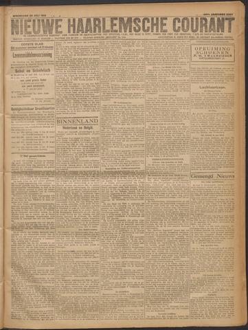 Nieuwe Haarlemsche Courant 1919-07-30