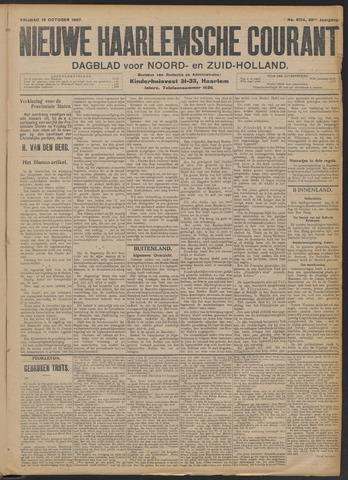 Nieuwe Haarlemsche Courant 1907-10-18