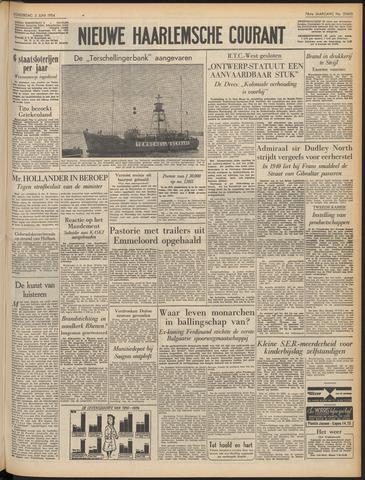 Nieuwe Haarlemsche Courant 1954-06-03