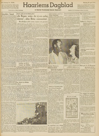 Haarlem's Dagblad 1950-04-18