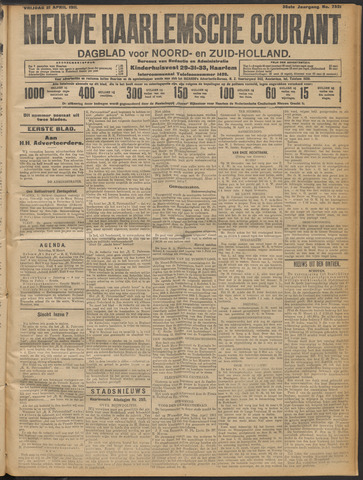 Nieuwe Haarlemsche Courant 1911-04-21