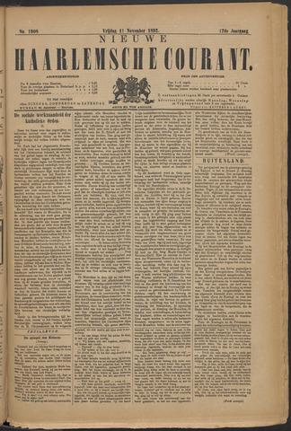 Nieuwe Haarlemsche Courant 1892-11-11