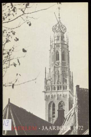 Jaarverslagen en Jaarboeken Vereniging Haerlem 1972